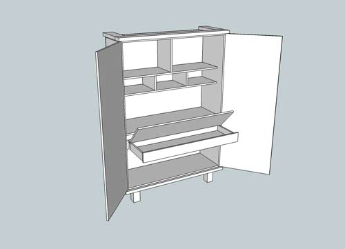 Cupboard-Desk-side-open
